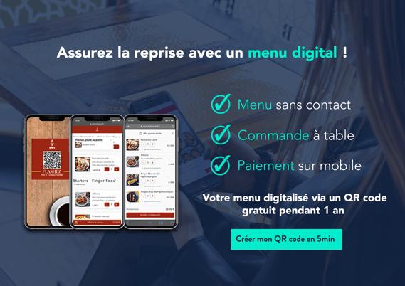 TastyCLoud - menu QR code restaurants