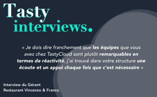 interview tastycloud x restaurant vincenzo